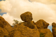 The amazing city of rocks state park in new mexico Royalty Free Stock Photo