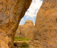 The amazing city of rocks state park in new mexico Stock Photos