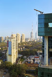 Amazing clear morning in Bombay stock photo