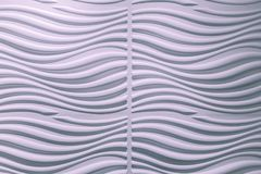 Free Amazing Closeup View Of Pinkish Wavy Interior Wall Decorative Background Royalty Free Stock Images - 101141519