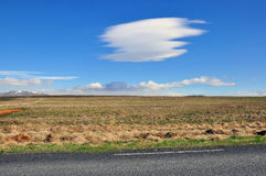 Amazing cloud formation Stock Image