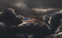 Amazing clouds Royalty Free Stock Photos