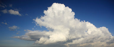 Amazing clouds Royalty Free Stock Photography
