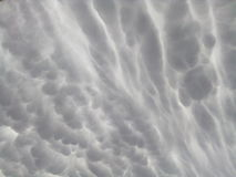 Amazing. Clouds that shocked Royalty Free Stock Photography