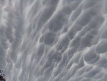 Amazing. Clouds that shocked Royalty Free Stock Photos