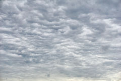 Amazing clouds before a storm.  Stock Photography