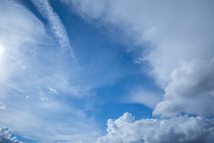 Amazing cloudscape. Stock Photo