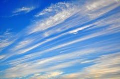 Amazing cloudy sky Stock Photos