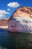 The amazing coast from orange sandstone Stock Image