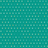 Amazing colorful green vintage geometric dots pattern Stock Photo