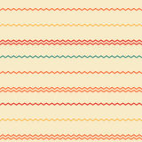 Amazing colorful rainbow beige vintage geometric stripe pattern Royalty Free Stock Photo