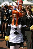 Amazing cosplay outfit Royalty Free Stock Images