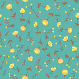 Amazing cute seamless vintage colorful floral pattern Stock Photos
