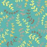 Amazing cute seamless vintage colorful floral pattern Stock Images