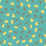 Amazing cute seamless vintage colorful floral pattern Royalty Free Stock Image