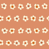 Amazing cute seamless vintage colorful floral pattern Royalty Free Stock Images