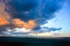 Amazing dark sky Royalty Free Stock Image