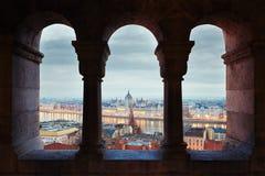 Free Amazing Dawn In Budapest Stock Photo - 65470260