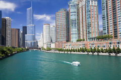 Amazing day in Chicago Royalty Free Stock Photography