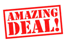 AMAZING DEAL! Royalty Free Stock Photography