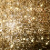 Amazing design on gold glittering. EPS 10 Royalty Free Stock Photography