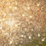 Amazing design on gold glittering. EPS 10 Stock Images