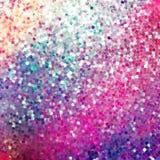 Amazing design on purple glittering. EPS 10 Stock Images