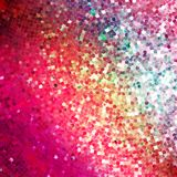 Amazing design on red glittering. EPS 10 Royalty Free Stock Photography