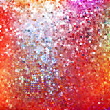Amazing design on red glittering.  Royalty Free Stock Photos