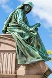 Amazing detailed statue in  Edinburgh, Scotland Royalty Free Stock Photos