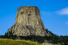 The Amazing Devil's Tower, Wyoming, USA. Royalty Free Stock Photo