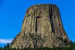 The Amazing Devil's Tower, Wyoming, USA. Stock Images