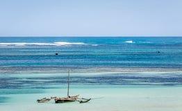 Amazing Diani Beach Seascape, Kenya Royalty Free Stock Image
