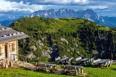 Amazing Dolomite Alps Stock Photo