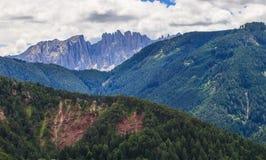 Amazing Dolomites Mountains Stock Photo