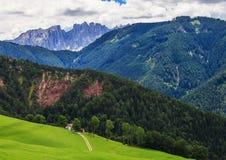 Amazing Dolomites Mountains Royalty Free Stock Image