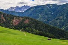 Amazing Dolomites Mountains Royalty Free Stock Photography