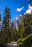 Amazing Dolomites Royalty Free Stock Photos