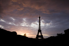 The amazing Eiffel Tower Royalty Free Stock Photos