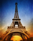 Amazing Eiffel Tower Stock Photography