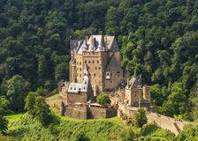 The amazing Eltz Castle, Germany royalty free stock photos