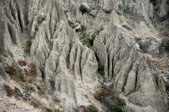 Amazing eroded badlands Stock Images