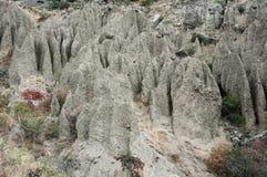 Amazing eroded badlands Stock Image