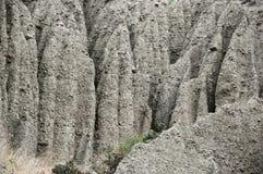 Amazing eroded badlands Royalty Free Stock Images