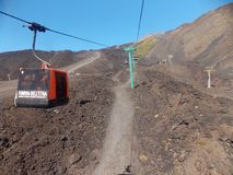 Amazing Etna, Sicily stock photo