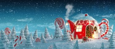 Free Amazing Fairy House Royalty Free Stock Photo - 160267035