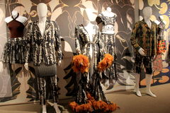 Amazing fashion in dancer's costumes, displayed at The National Museum Of Dance, Saratoga Springs, NY,2016 Stock Photos