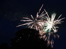 Amazing fireworks, firecracker, fireworks Stock Photography