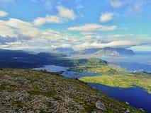 Amazing fjords in Lofoten stock photos