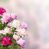 Amazing floral background Stock Images